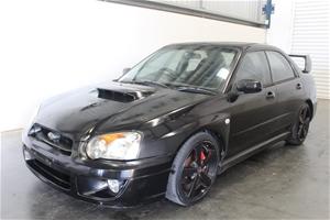 2004 Subaru Impreza WRX (AWD) G2 Manual