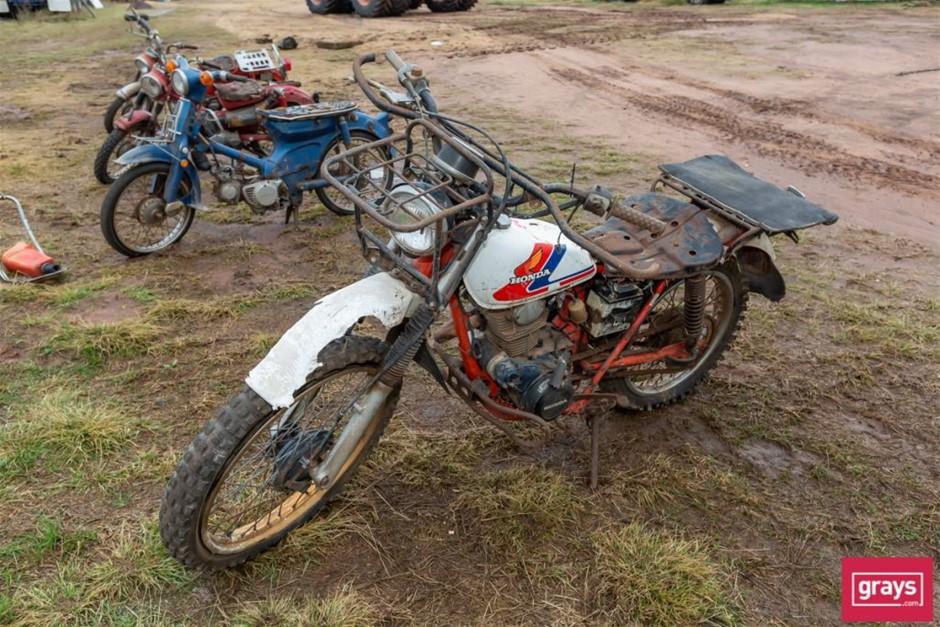1985 Honda CT200 Motor Bike