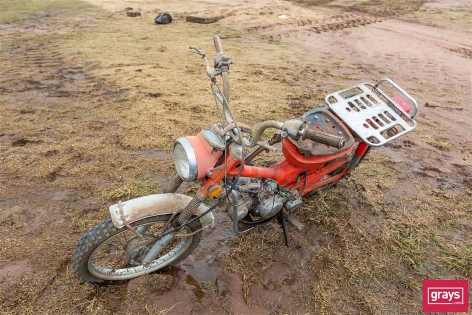 Honda Possibly honda 90 Postie Bike