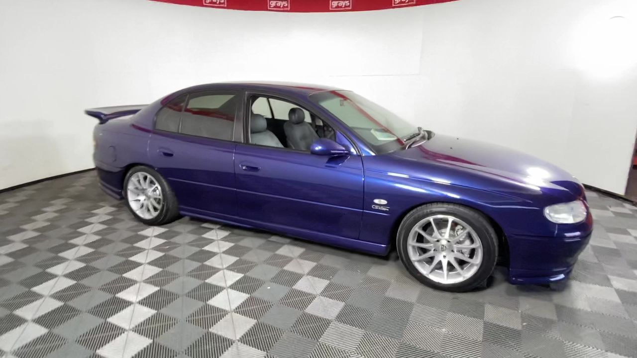 1997 VT Holden Commodore Corsa Specialized Vehicle build number 009