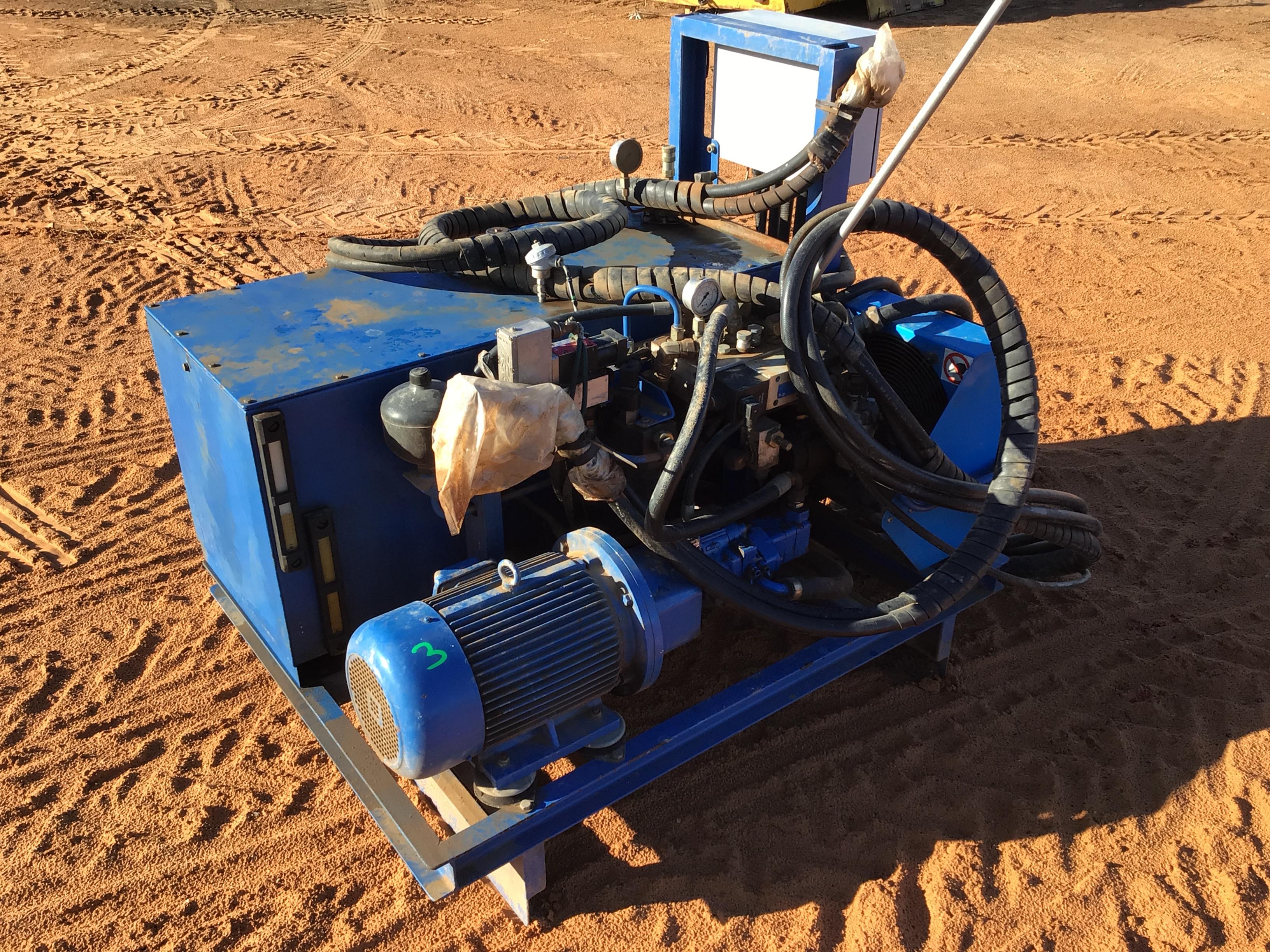 Custom Made Hydraulic Power Pack