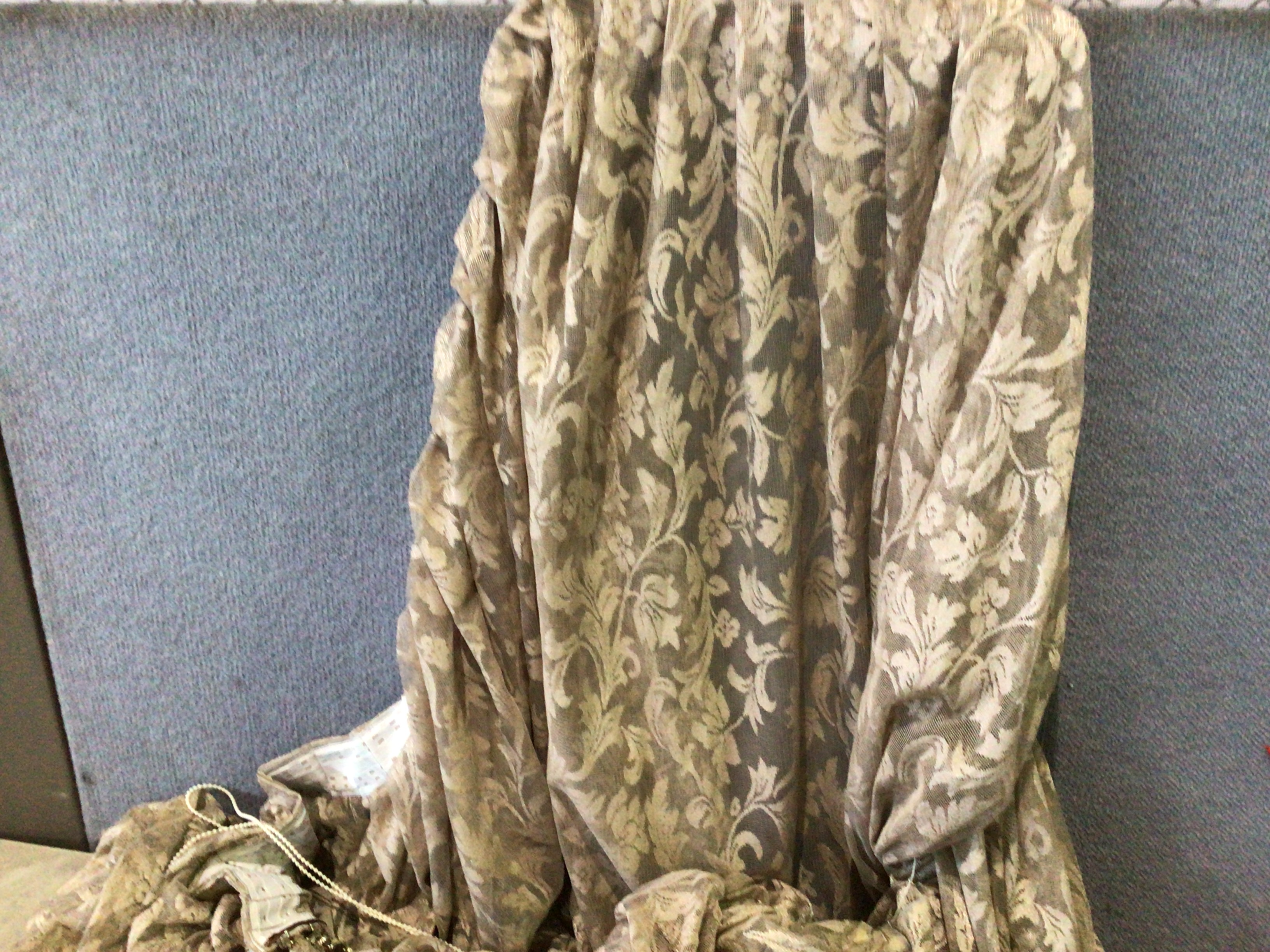 Qty of 2 Curtain Netting