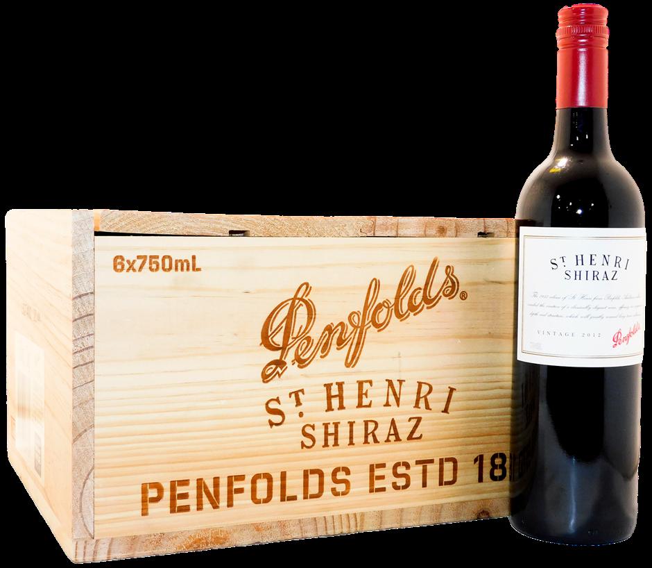 Penfolds St Henri Shiraz 2012 (6x 750mL), SA