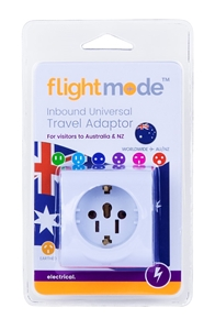 Inbound Travel Adaptor - Large World/Uni