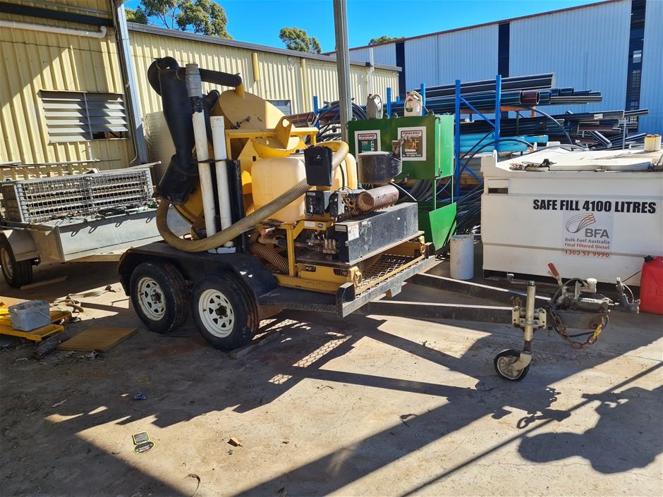 Vermeer V100G Vacuum Excavator Trailer