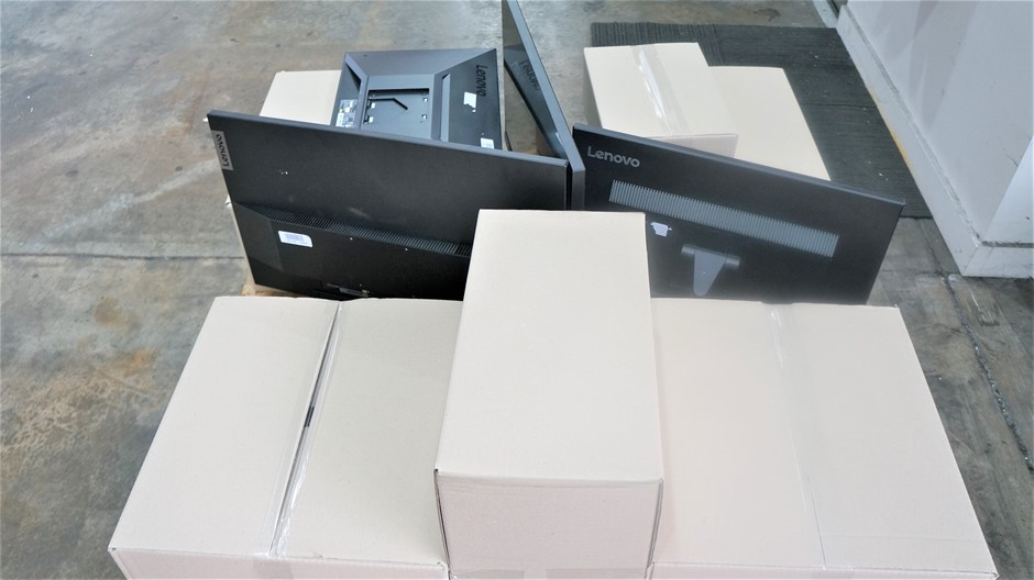 Pallet of Assorted USED/FAULTY Lenovo Laptops, Desktops and Monitors