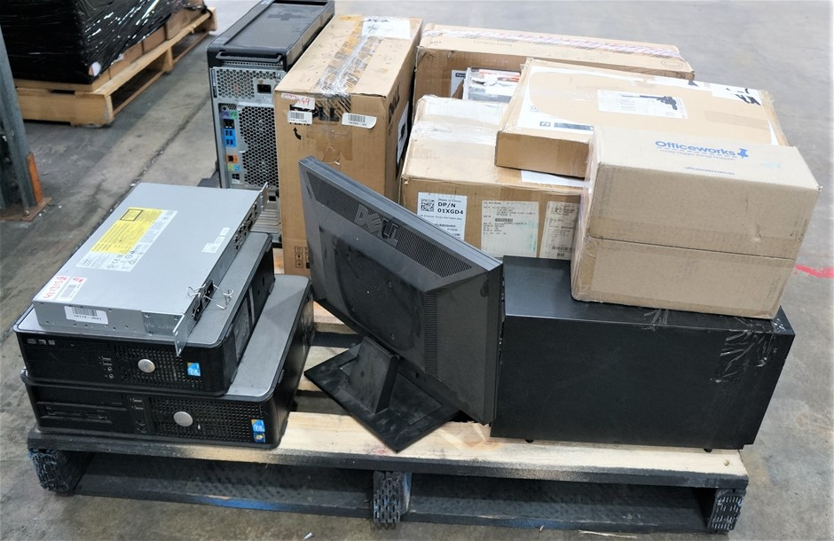 Pallet of Assorted USED/FAULTY IT Equipment's, Including