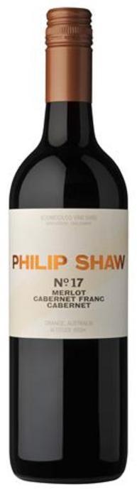 Philip Shaw No. 17 Cabernet, Cabernet Franc, Merlot 2019 (6x 750mL), NSW.