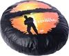 BUSHRANGER Goin` Fishing Spare Wheel Cover, Black. Buyers Note - Discount F