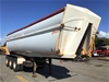2013 Howard Porter Grain Triaxle Tipper Trailer with Extension