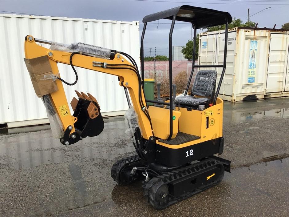Unused 2021 AGROTK YN-240M Mini Excavator