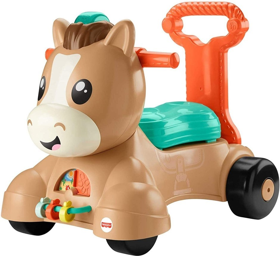 FISHER PRICE Musical Walker and Ride Pony Toy. Buyers Note - Discount Freig