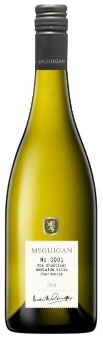 McGuigan Short List Chardonnay 2017 (6 x 750mL) Adelaide Hills, SA