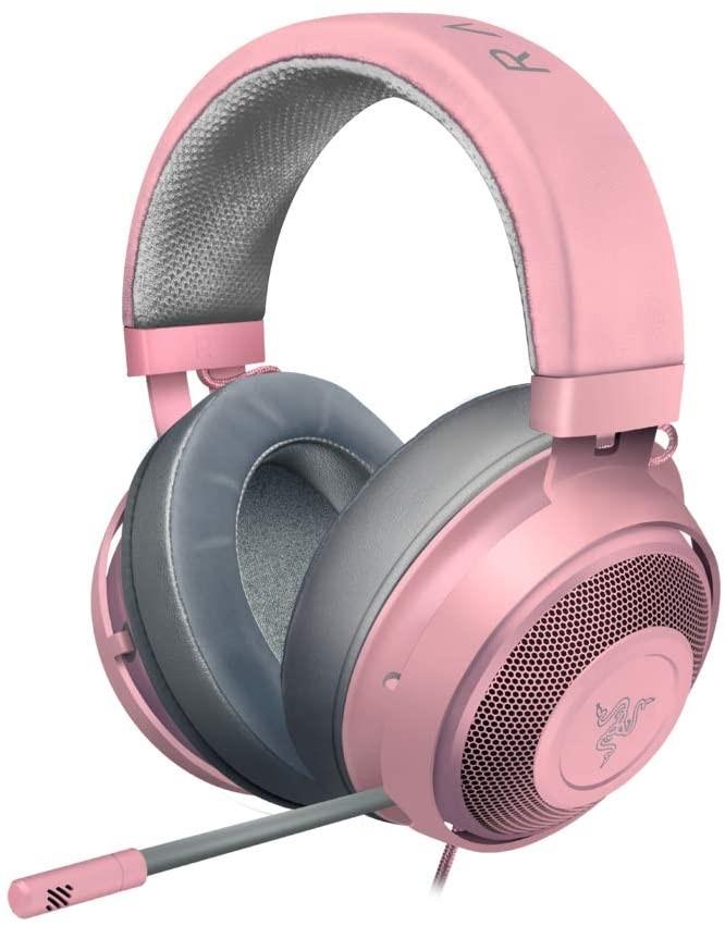 RAZER AU Kraken Multi-Platform Wired Gaming Headset, Colour: Quartz Pink,RZ