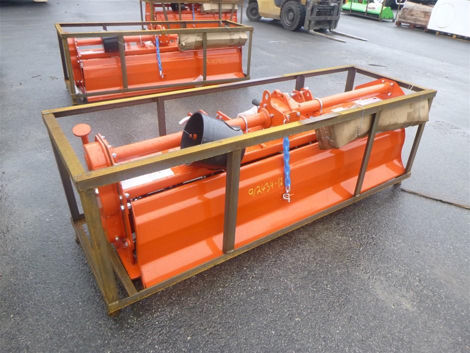Unused 2021 TAS-81 Mower King Rototiller