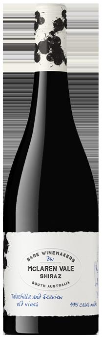 Bare Wine Makers McLaren Vale Shiraz 2020 (12x 750mL)