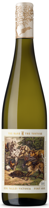 Hare and Tortoise King Valley Pinot Gris 2020 (6x 750mL)