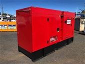 2021 Unused 100kVA, 60kVA & 40kVA  Generators - Toowoomba
