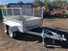 Unused 2021 8ft x 5ft Box Trailer with Cage