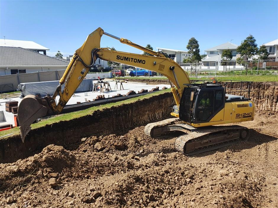 2012 Sumitomo Excavator SH240