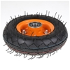 Pneumatic Tyres Wheels 200mm dia 20mm Centre. Buyers Note - Discount Freigh