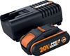 WORX 20V 2.0Ah Lithium-ion Battery & Charger Kit. Buyers Note - Discount Fr