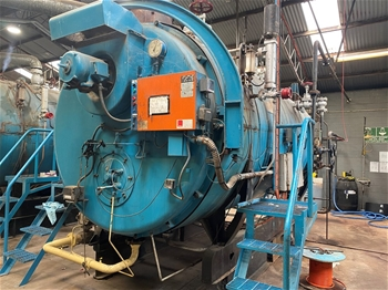 OPERATIONAL RENDERING PLANT EQUIPMENT 12TPH CONTINUOUS COOKER