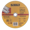 5 x DeWALT Metal Cut-Off Discs, 230 x 2.5 x 22.23mm. Buyers Note - Discount