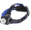 High Powered Rechargeable Head Lamp c/w 4 x Batteries & Charges 12V & 240V.
