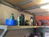 <p>Shelf of Assorted Items </p>