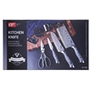 CF 6pcs Kitchen Knife Set. Buyers Note - Discount Freight Rates Apply to Al