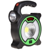 Solar Multiple High Source Portable Torch, 170x140mm with Rechargeable Batt