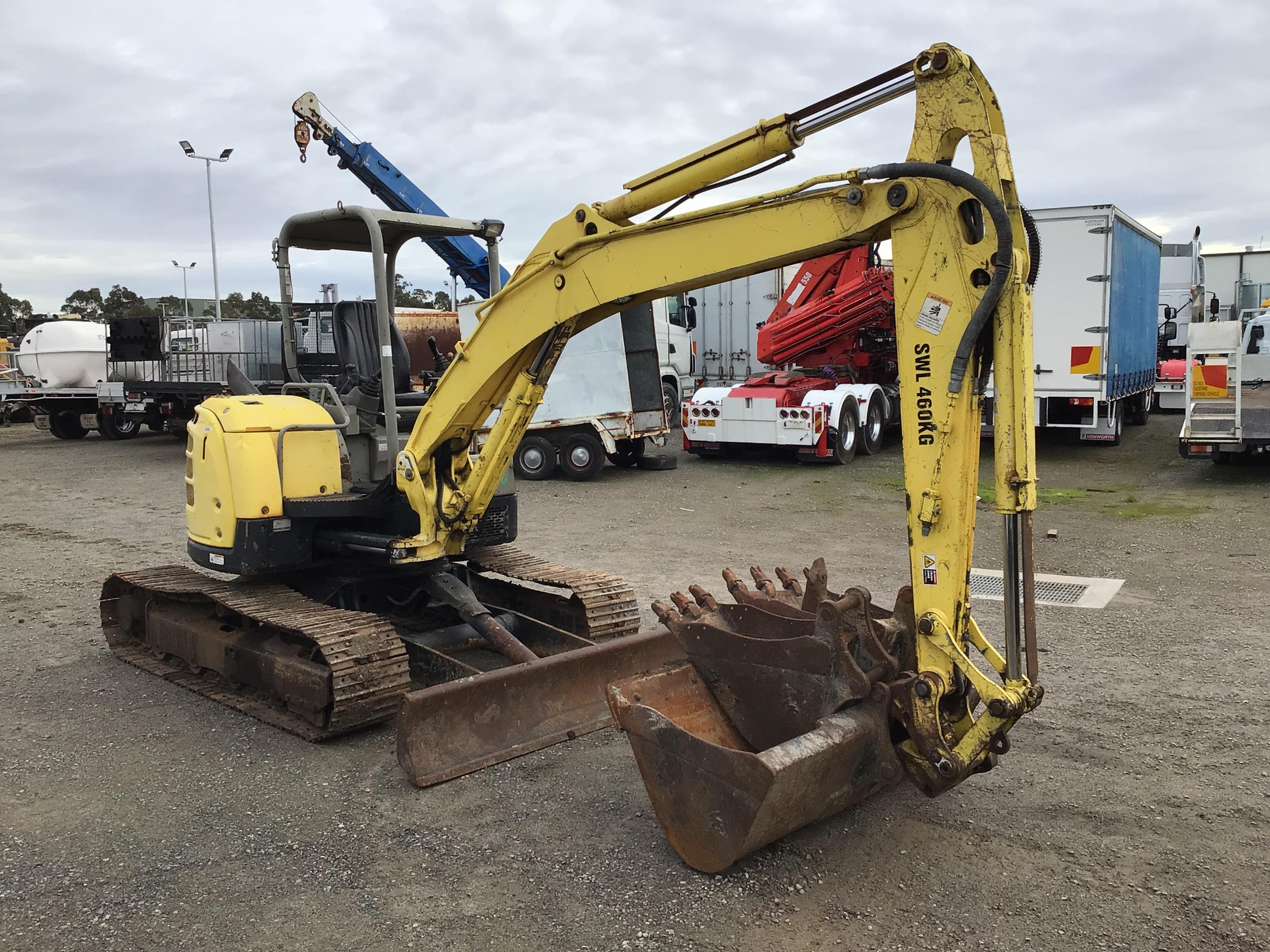 Yanmar V1055-5B Hydraulic Excavator