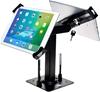 CTA DIGITAL Security Kiosk Dual Stand for 7-14`` Tablets, Colour: Black, Co
