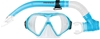 MIRAGE Tropic Adult Tropic Mask and Snorkel Set, Blue. Buyers Note - Discou