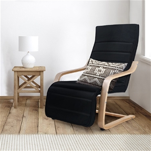 Artiss Fabric Armchair with Adjustable F