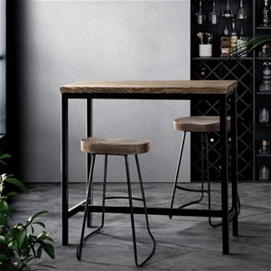 Artiss Vintage Industrial High Bar Table