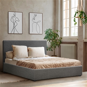 Artiss Double Size Fabric and Wood Bed F
