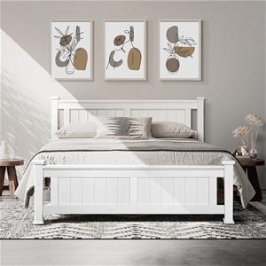 Artiss Queen Wooden Timber Bed Frame RIO