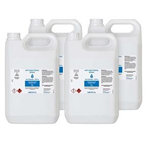 4X 5L Standard Grade Disinfectant Anti-B