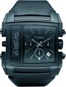 d4ce8bd6a Buy Men's Diesel Digital Analog Blackout Watch DZ7192 | GraysOnline ...