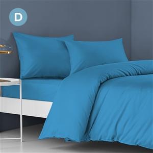STARRY EUCALYPT Double Bed Sheet Set Fla