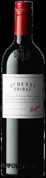 Penfolds St Henri Shiraz 2018 (6x 750mL). Wooden Box