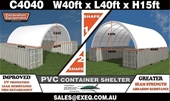 Container Shelters, Work Benches & Generators