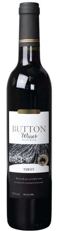 Button Wines Tawny Port 2007 (6 x 500 mL) VIC