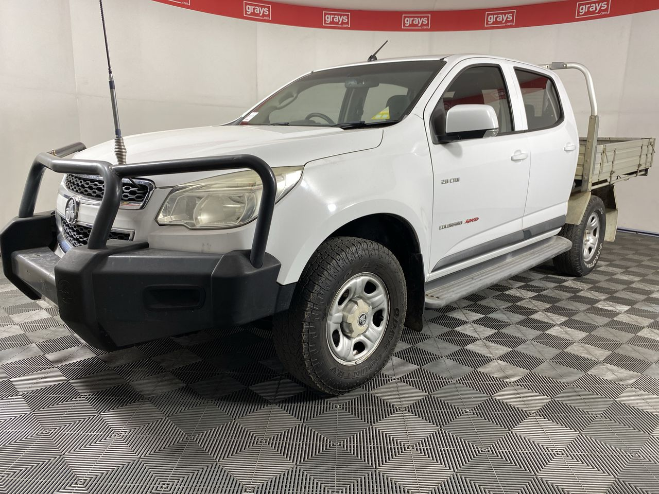 2012 Holden Colorado 4X4 LX RG Turbo Diesel Automatic Crew Cab Chassis