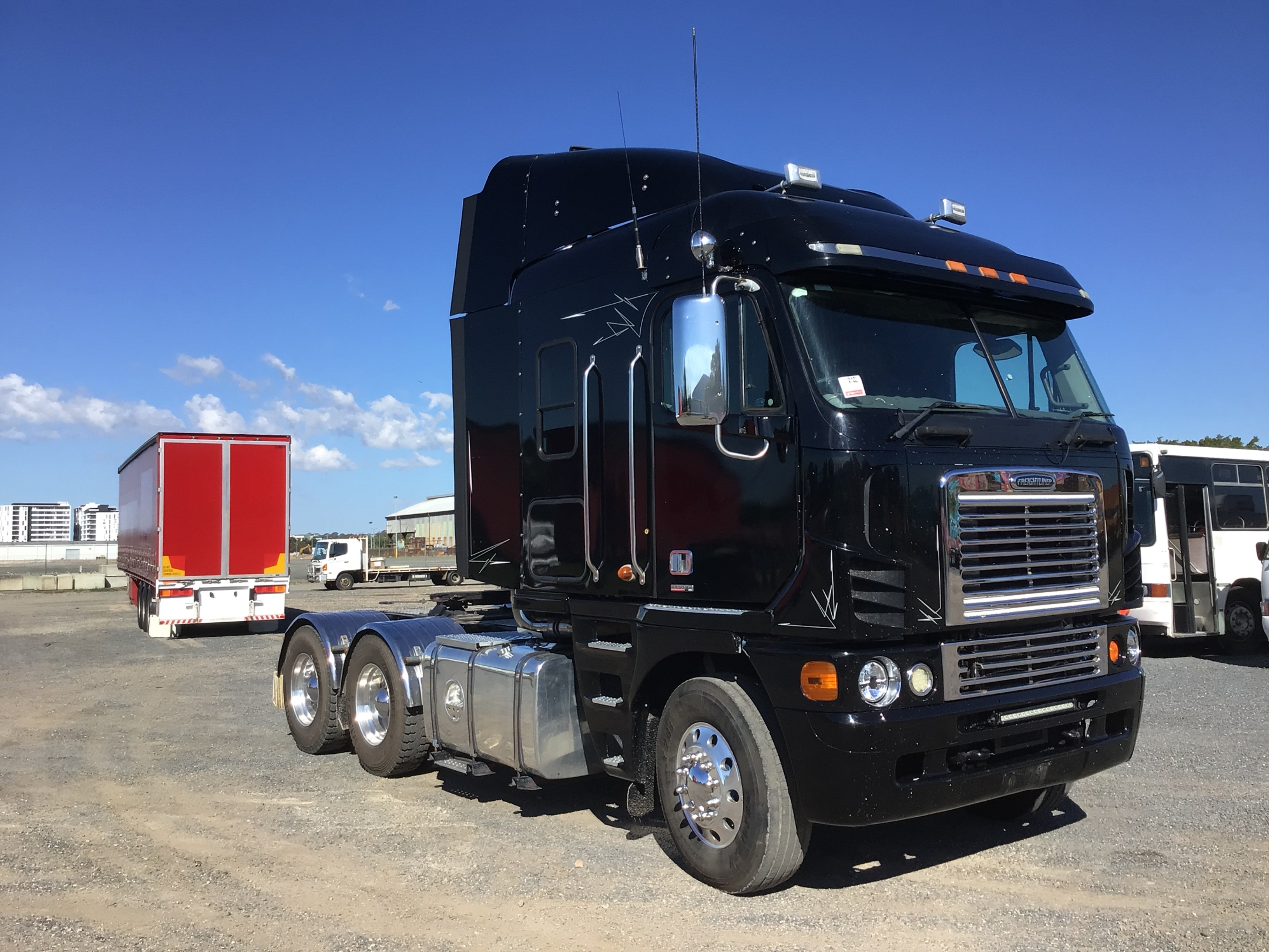 2010 Freightliner FLH Argosy 6 x 4 Prime Mover Truck