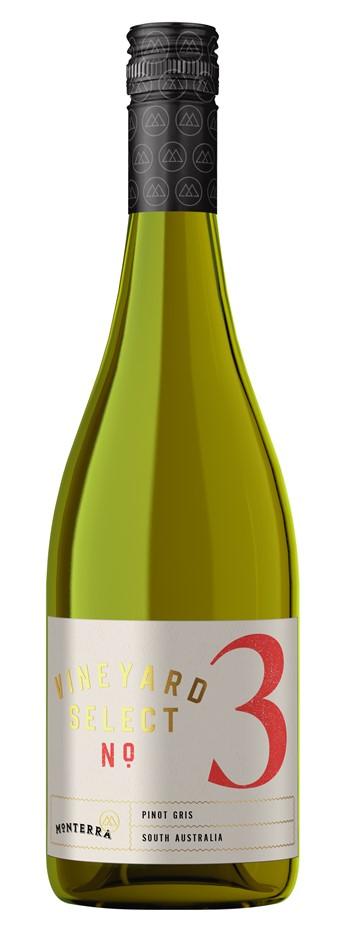 Monterra Vineyard Select Pinot Gris 2021 (6 x 750mL) SA