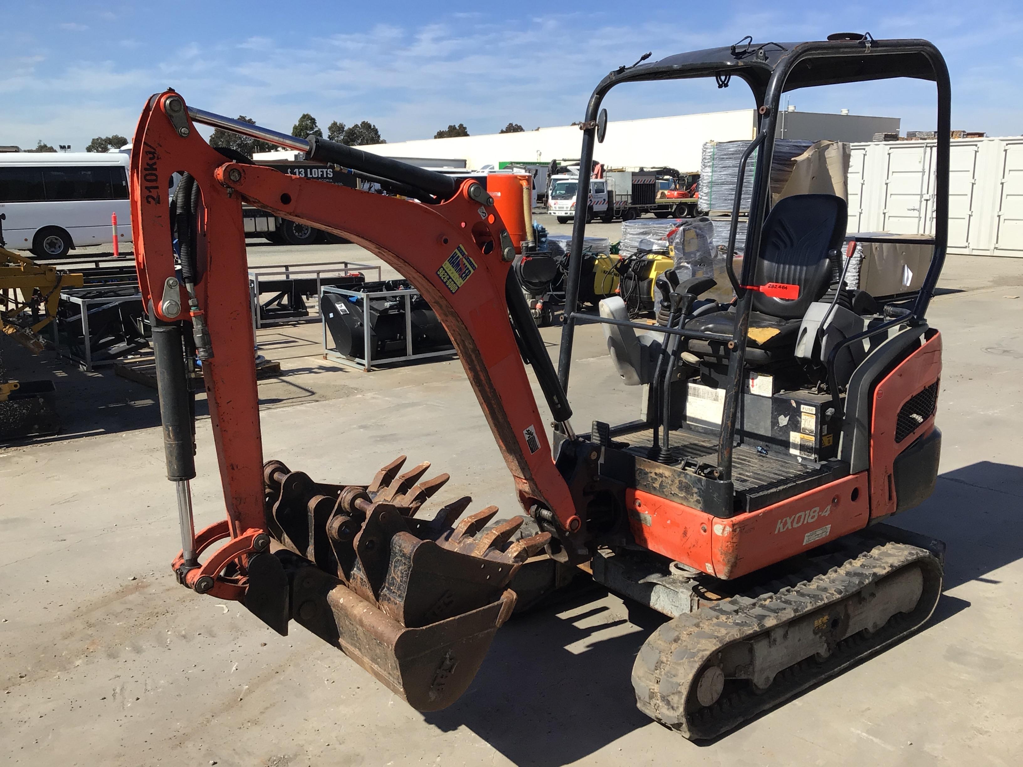 Kubota KX018-4 Mini Excavator