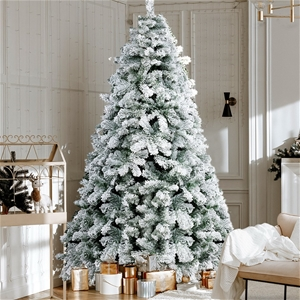 Christmas Snowy Tree 2.4m